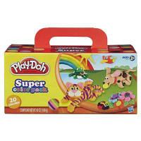 Play-Doh Набор пластилина из 20 баночек