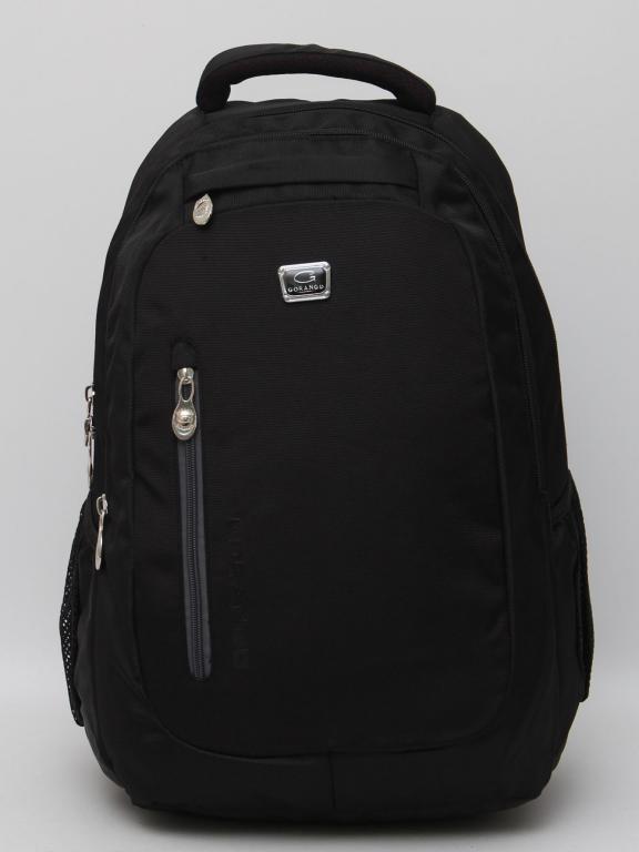Мужской городской рюкзак с отделением для ноутбука. Вместительный рюкзак с  ортопедической спинкой. Код  3ed11844f6e