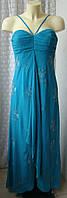 Платье женское вечернее нарядное в пол макси бренд Vivien Caran р.46 5950, фото 1