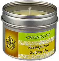 Массажная- ароматическая свеча Golden SPA