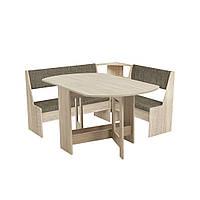Комплект кухонный мягкий уголок, раскладной стол
