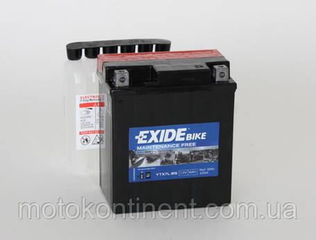 Акумулятор для мотоцикла гелевий EXIDE ETX7L-BS = YTX7L-BS 6 Ah 113x70x130, фото 2