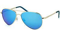 Солнцезащитные очки Polaroid Очки женские с поляризационными зеркальными линзами POLAROID (ПОЛАРОИД) P6012N-J5G56JY