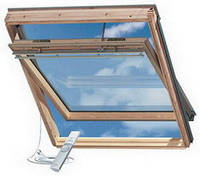 Мансардное окно VELUX GGL SOLAR 307330, 78х140 cм (M 08)