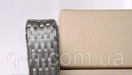 Плетеный диван трехместный из искусственного ротанга tennessi серый 210x96x75 см, фото 2