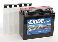 Аккумулятор для мотоцикла гелевый  EXIDE ET12B-BS = YT12B-BS  10Ah 150x70x130