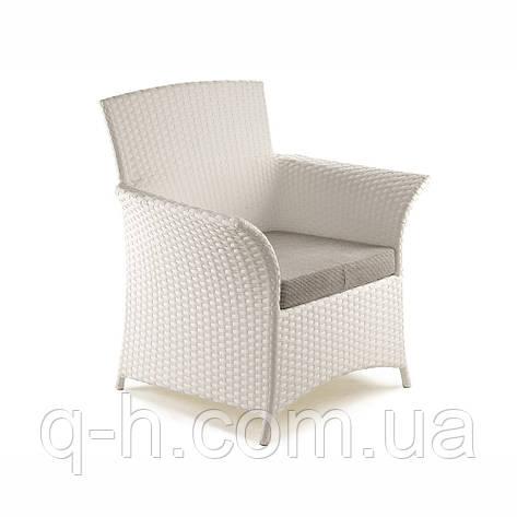 Плетеное кресло из искусственного ротанга patio 72x70x98 см, фото 2