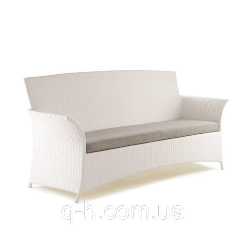 Плетеный диван из искусственного ротанга Patio (Патио) 210x70x98 см