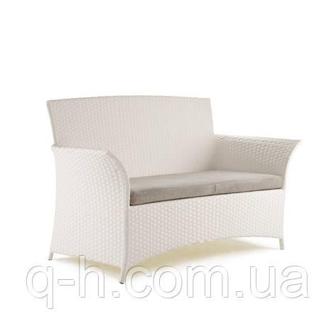 Плетеный диван Patio из искусственного ротанга, фото 2