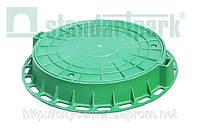 Люк пластиковый ГОСТ 3634-99 D800 (зеленый)