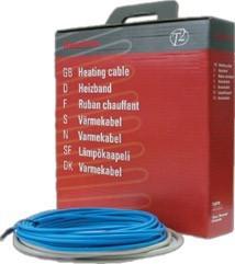 T2Blue кабель для обогрева пола (~ 20 Вт/м) 101 м