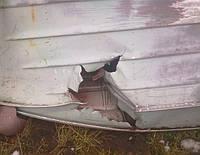 Как залатать дыру в лодке