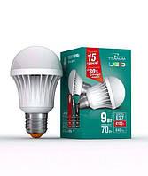 Светодиодная LED лампа Videx Titanum E27 9W (аналог 70W) 4100K 23506