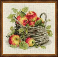 """Набор для вышивки нитками """"Спелые яблоки"""""""