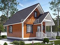 Дома из профилированного бруса, каркасные дома