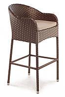 Плетеное кресло из искусственного ротанга bar 52x52x103 см