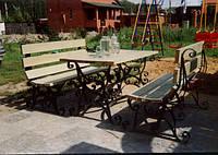 Кованый набор для сада
