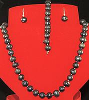 Набір з чорного перлів, фото 1