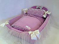 Кроватка Королевская фиолетовая