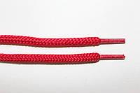 Шнурки круглые 5мм с наполнителем красный, фото 1