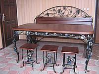 Мебель кованая для веранды