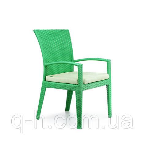 Плетеное кресло CALIFORNIA из искусственного ротанга, фото 2