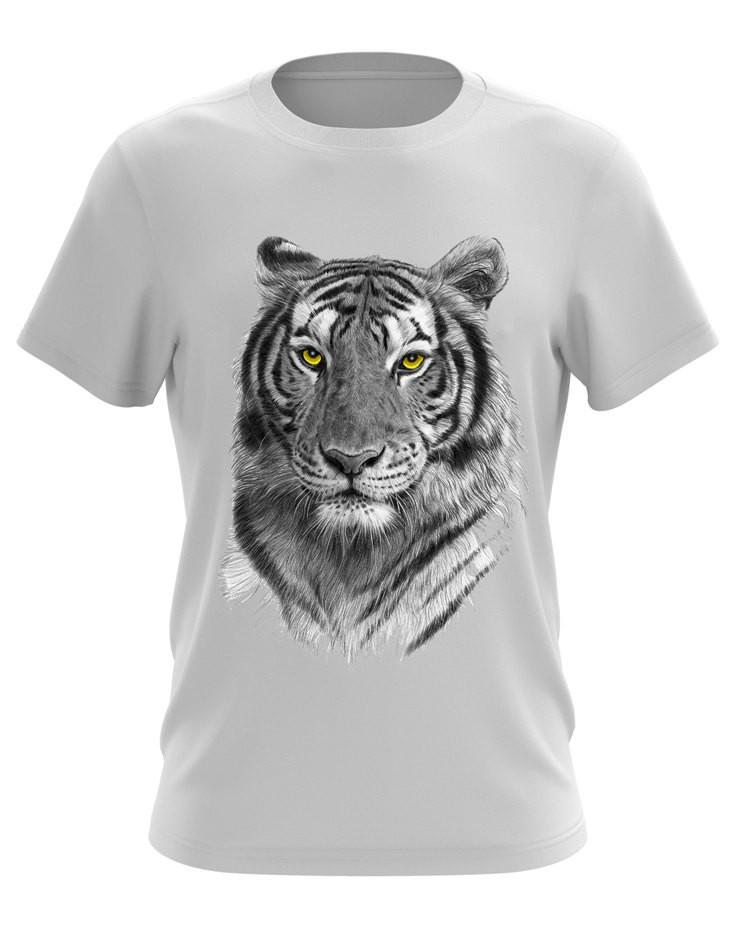 Футболка с принтом Tiger - Интернет-магазин одежды Ametist    в Хмельницком