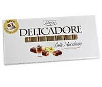 Молочный шоколад Delicadore caramel с карамельной начинкой 0,200 гр.