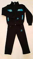 Тёплый спортивный костюм для мальчиков Чёрный размер: 92, 98, 104, 110, 116