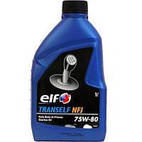 Масло трансмиссионное ELF TRANSELF NFJ 75W80 1 литр