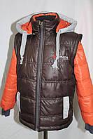 Детская курта-жилета для мальчика,весна