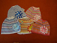 Хб шапочки на весну-лето