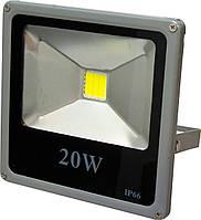 Прожектор светодиодный LF-20 LED 20W GEEN серия ECO Slim 6500K  IP65