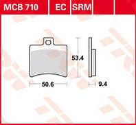 Тормозные колодки для Aprilia / Malaguti TRW / Lucas MCB710