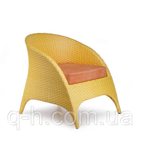 Кресло плетенрое из искусственного ротанга GOLF, фото 2
