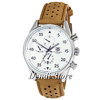 Часы TAG Heuer Carrera 1887 SpaceX Mechanic Silver/White CL-SM-1021-0068