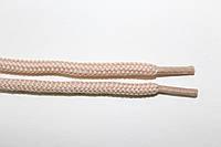 Шнурки круглые 5мм с наполнителем св. бежевый