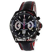 Часы Tag Heuer Grand Carrera Calibre 17 RS2 Quartz All Black-Red