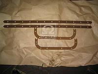 Прокладка картера масляного ЯМЗ 238 (поддона) (пробк.) (Украина). 238-1009040А