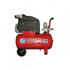 Компресор поршневий Vрес=24л COSMOS 2420 220V CE ROSSO FIAC 9995260000
