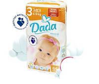 Подгузники детские DADA Premium Comfort Fit 3 (4-9 кг) 64 шт.