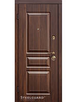 Дверь входная металлическая TermoScreen Темный орех Квартирная