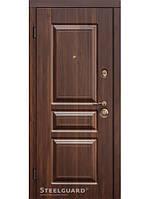 Дверь входная металлическая TermoScreen Темный орех/Белый мат Квартирная