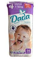 Подгузники детские DADA Premium Comfort Fit 4 (7-18 кг) 54 шт