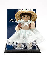 Коллекционная кукла, Миниатюра, Англия, фарфор