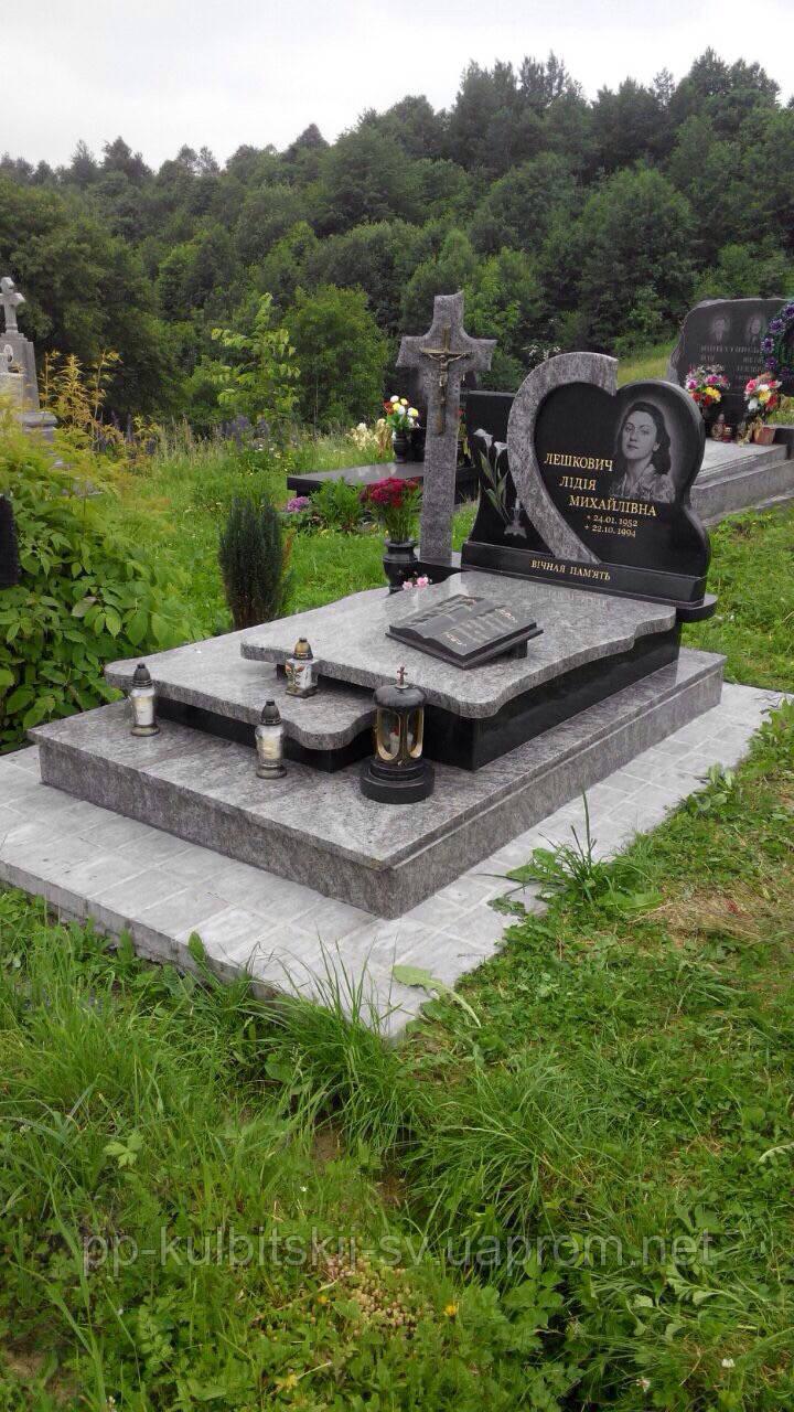 Пам'ятник гранітний для жінки 505