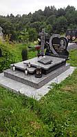 Одинарний памятник гранітний