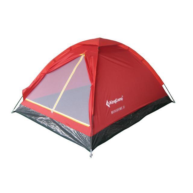 Палатка туристическая KT 3016 King Camp MONODOME II Красный