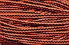Шнур акрил 10мм (100м) черный+оранжевый