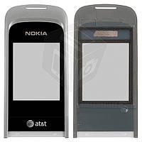 Защитное стекло корпуса для Nokia 2720 f, черное, оригинал